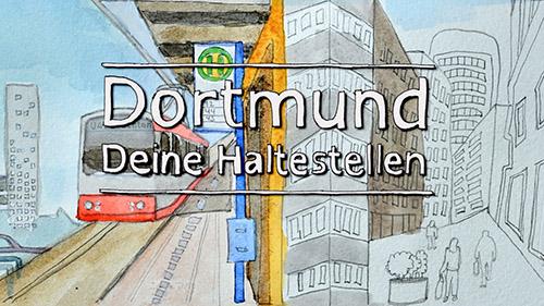 Dortmund - deine Haltestellen